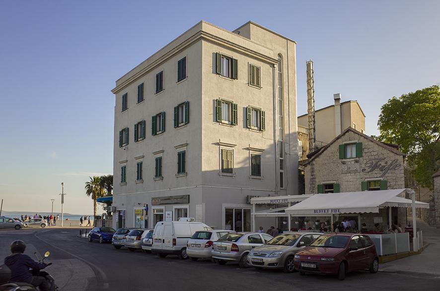 Restored 3-storey heritage apartment building
