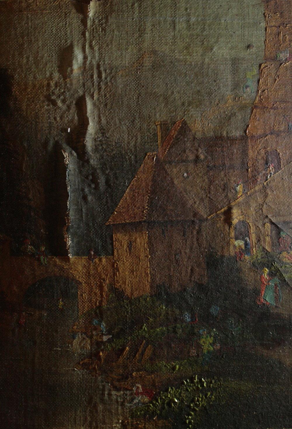 Paysage Burlesque - Anonyme (XIXe)