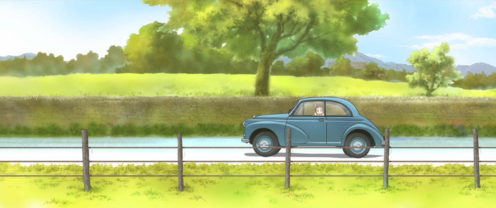 kiniro-mosaic-morris-minor