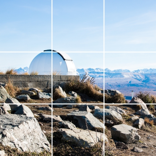 Rule of Thirds - Splitting photographs into thirds can go a long way to ensuring a well balanced image.