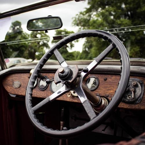Historic Car - Burghley house Car Show