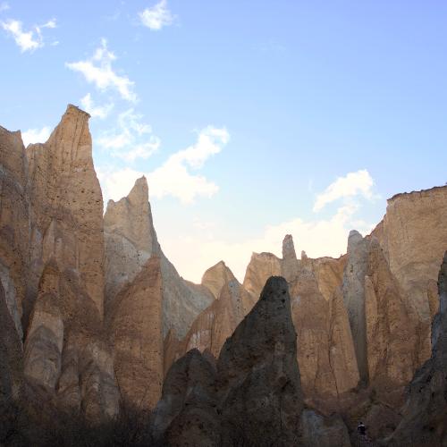 Clay Cliffs Amarama - New Zealand