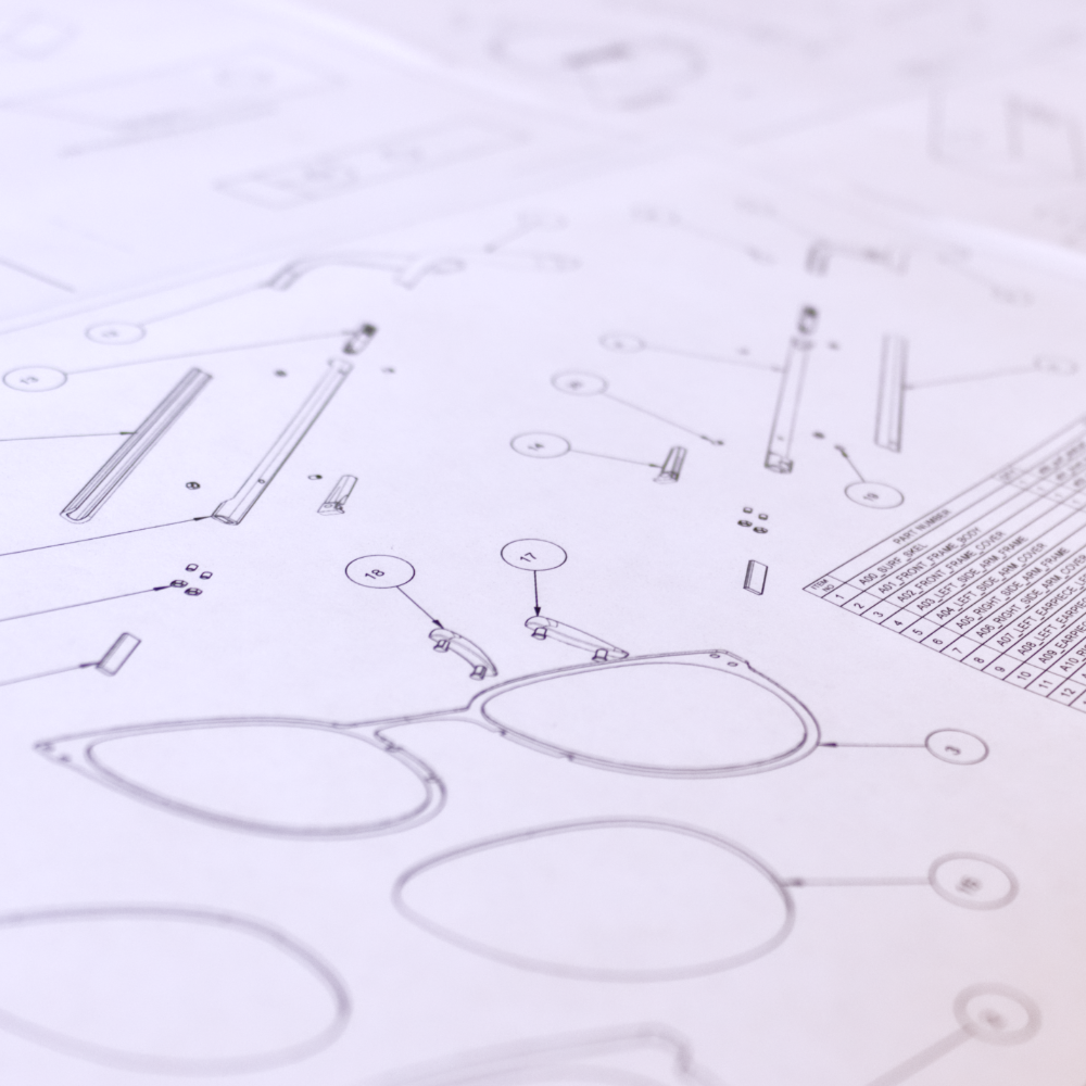 Draft Drawings - Industry standard draft / engineering drawings, ready for production.