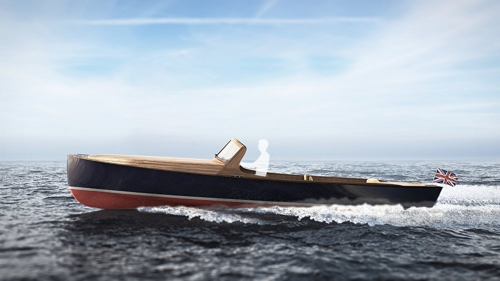 CGI Nautical Render | Retro Cruiser