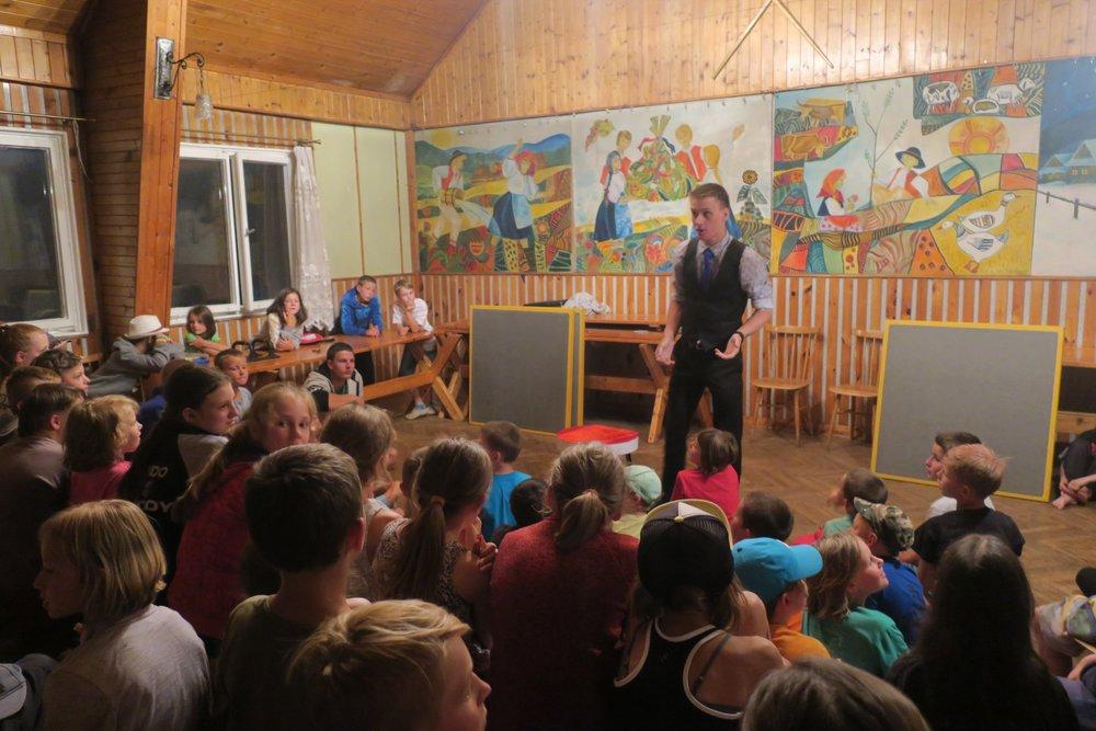 Dětský tábor | Dolní Lomná