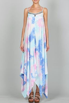 Maxi Dress - Summer BBQs, beach trips, graduation parties. Do we really need to list another reason as to why you NEED this Tye Dye Maxi Dress?
