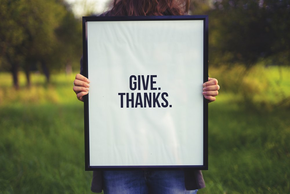 Give thanks by Simon Maage