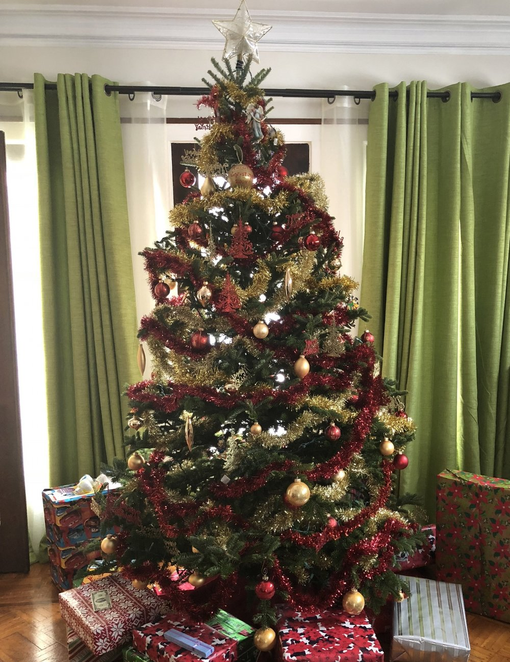Christmas tree by April Eileen