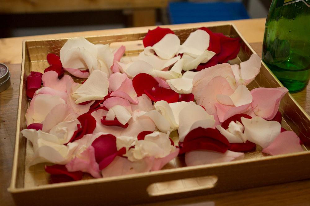 are those rose petals?
