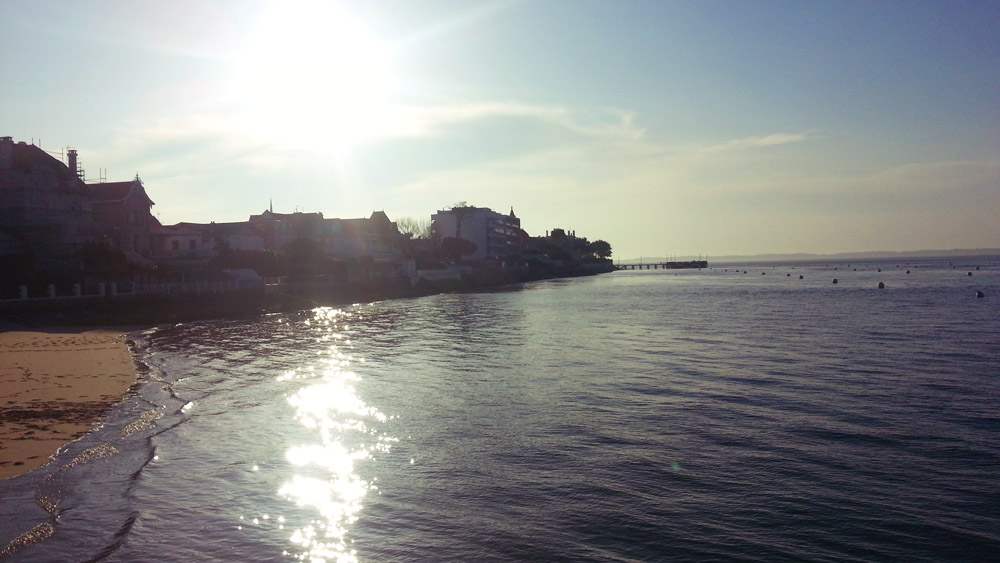 Sunsetting reflections