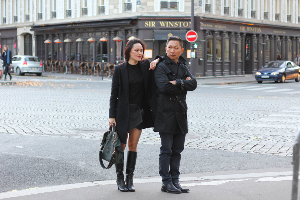 Champs Elysees - A stylish walk with Parents
