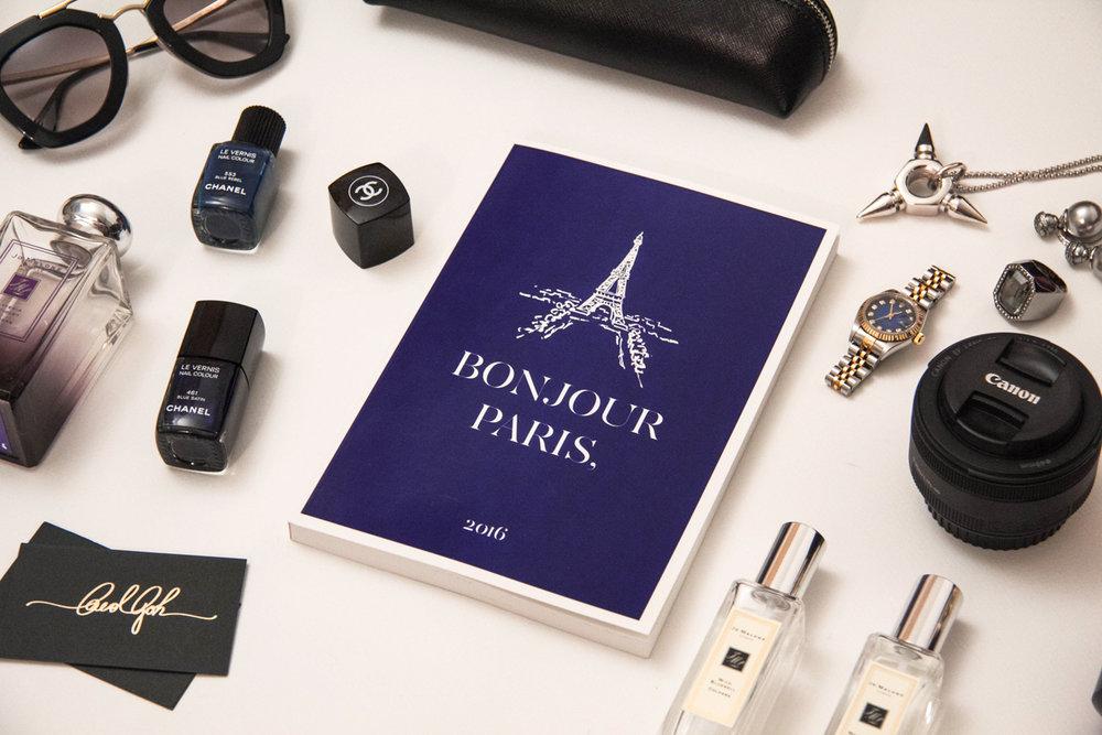 Bonjour Paris 2016 Planner