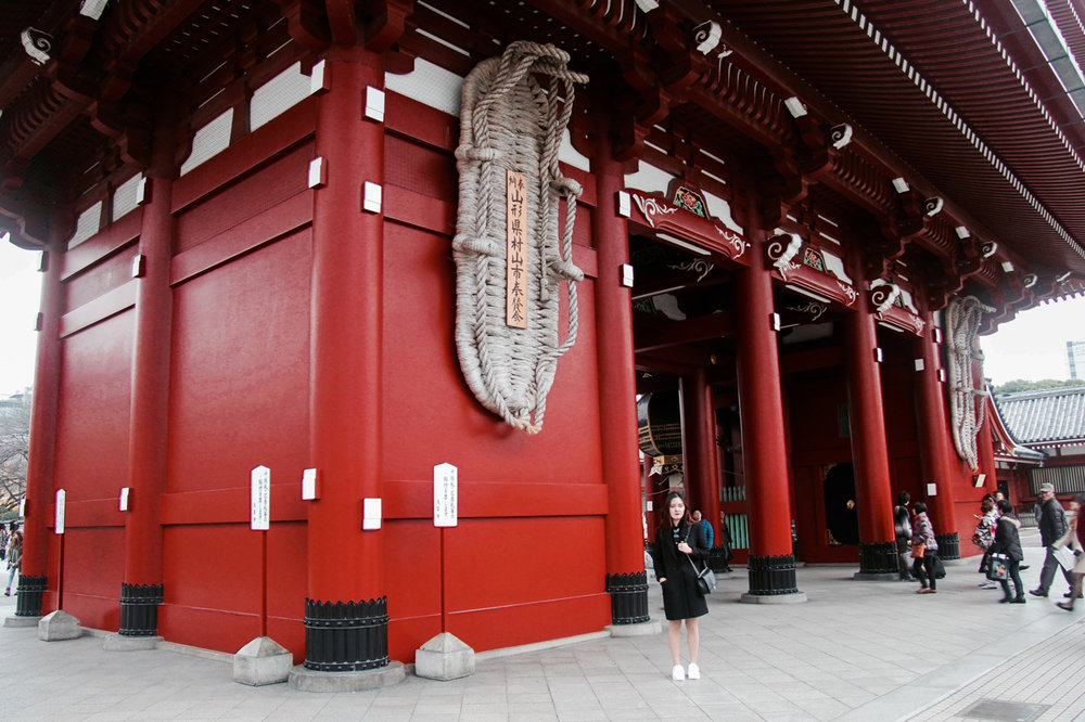 Tokyo Travelogue, Asakusa Sensouji Temple