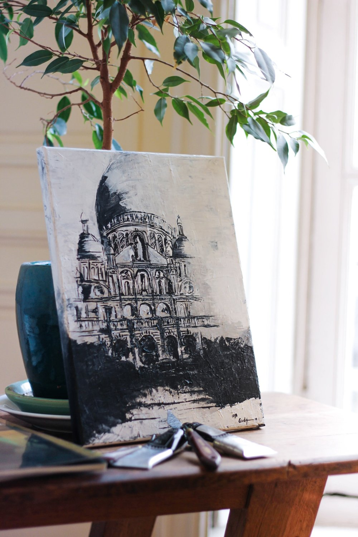Artsy Montmatre Acrylic paint