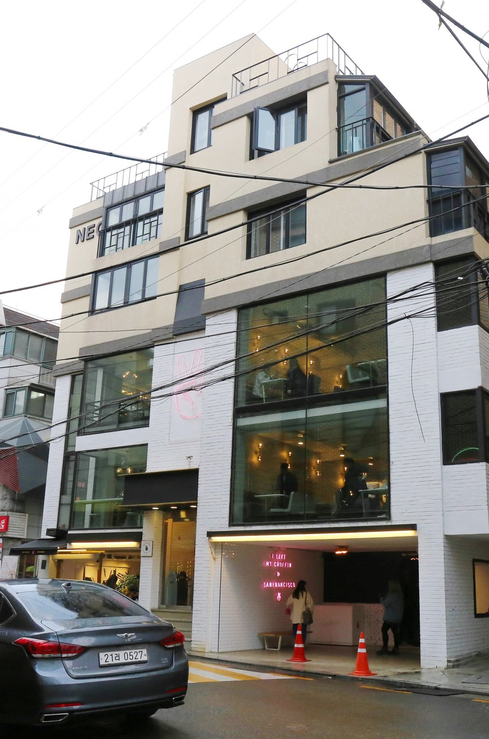 34, Apgujeong-ro 10-gilGangnam-guSeoul, 06028 - 10am to 10pm on weekdays, and 11pm on weekendsClosest Train station : Sinsa