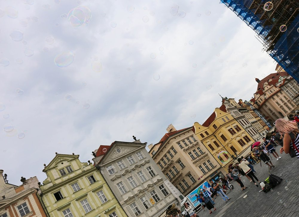 Prague Travelogue, City Walk, Things to eat Trdelnik