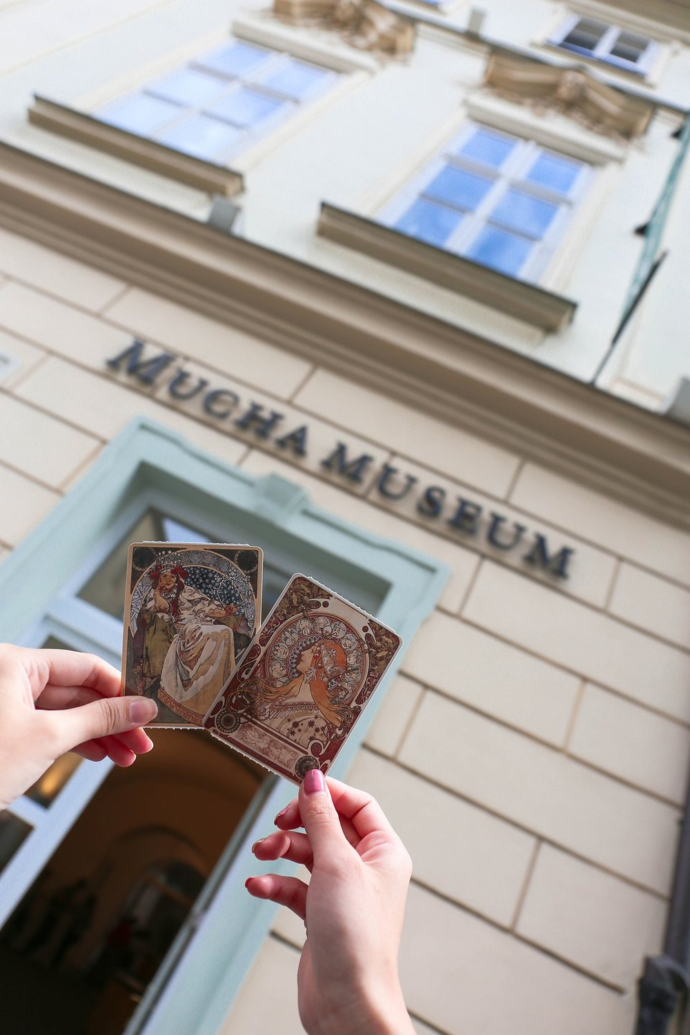 24hours in prague — Mucha Museum