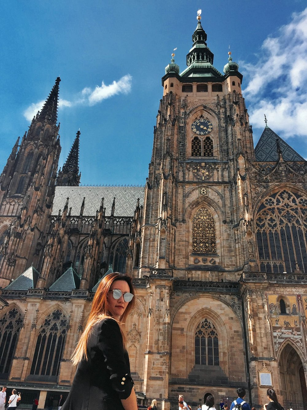 24 hours in prague: st vitus cathedral