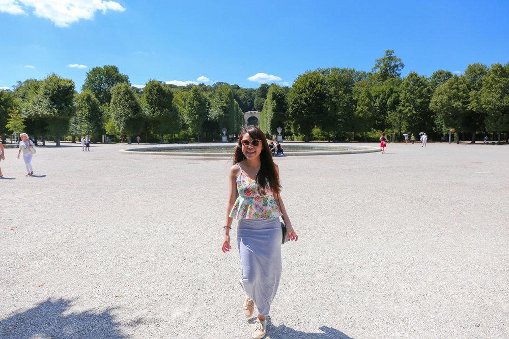 Schonbrunn Palace Vienna — Najaden bassin