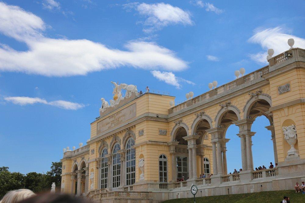 Schonbrunn Palace Vienna — Gloriette
