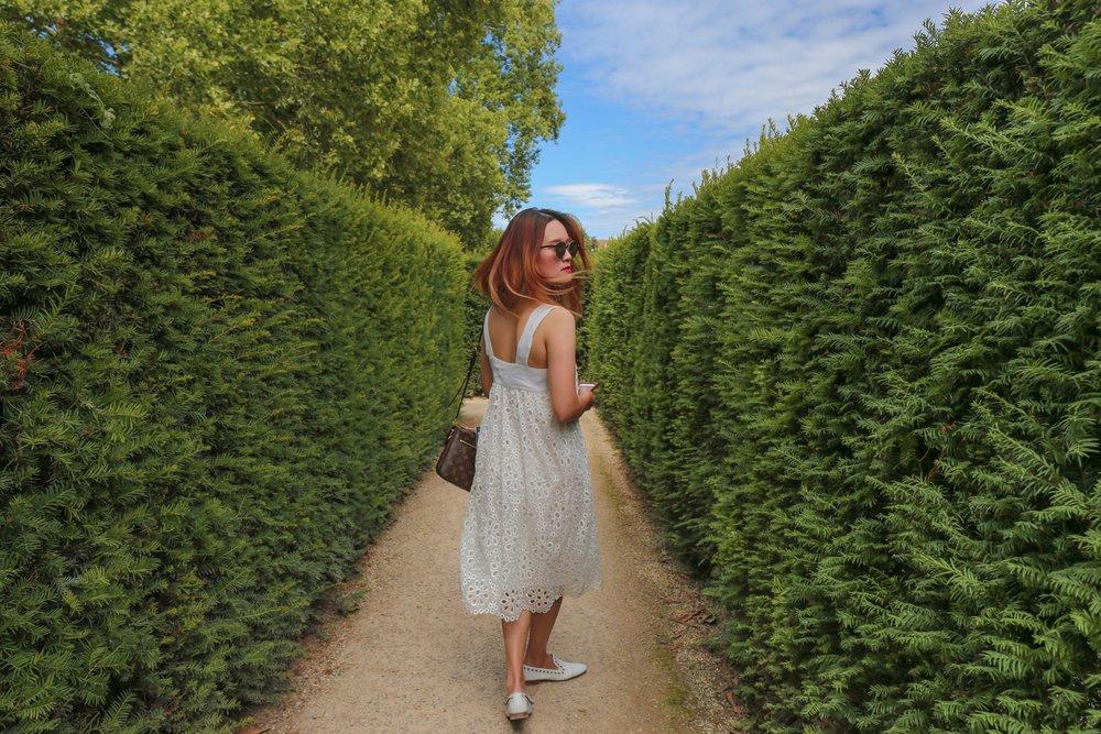 Schonbrunn Palace Vienna — The maze