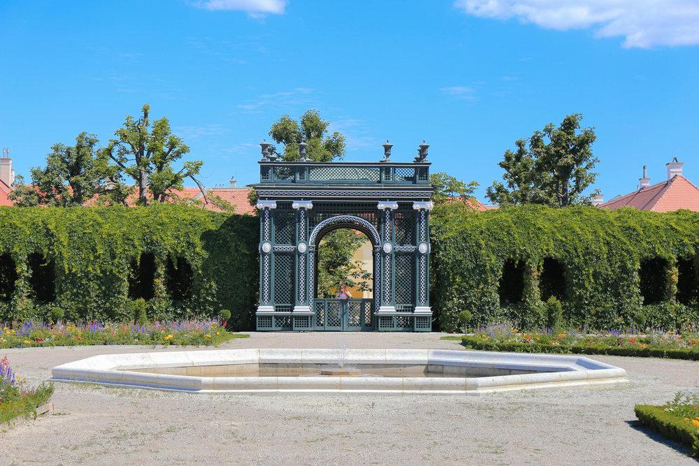 Schonbrunn Palace Vienna — Privy garden