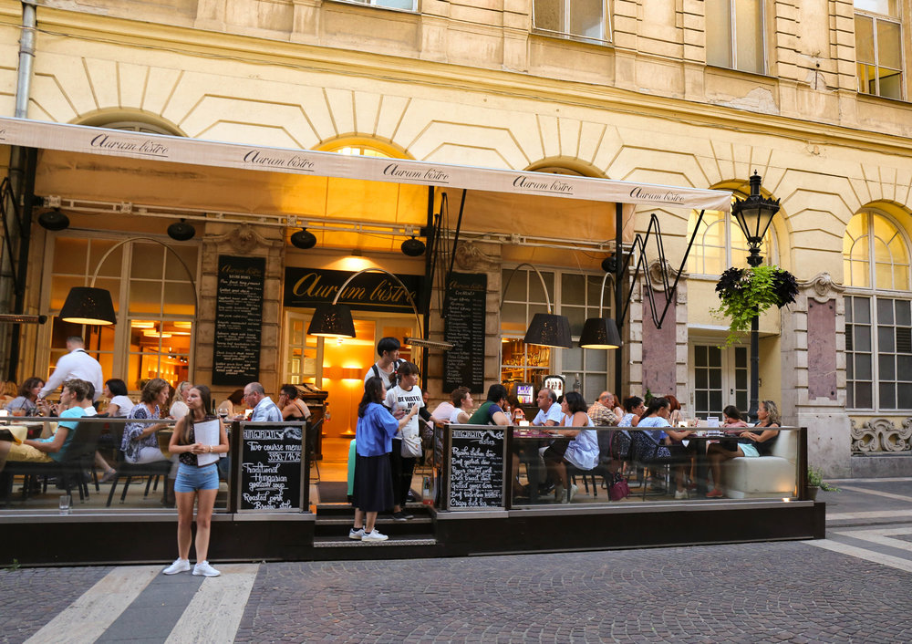 budapest: WHere to eat : aurum bistro