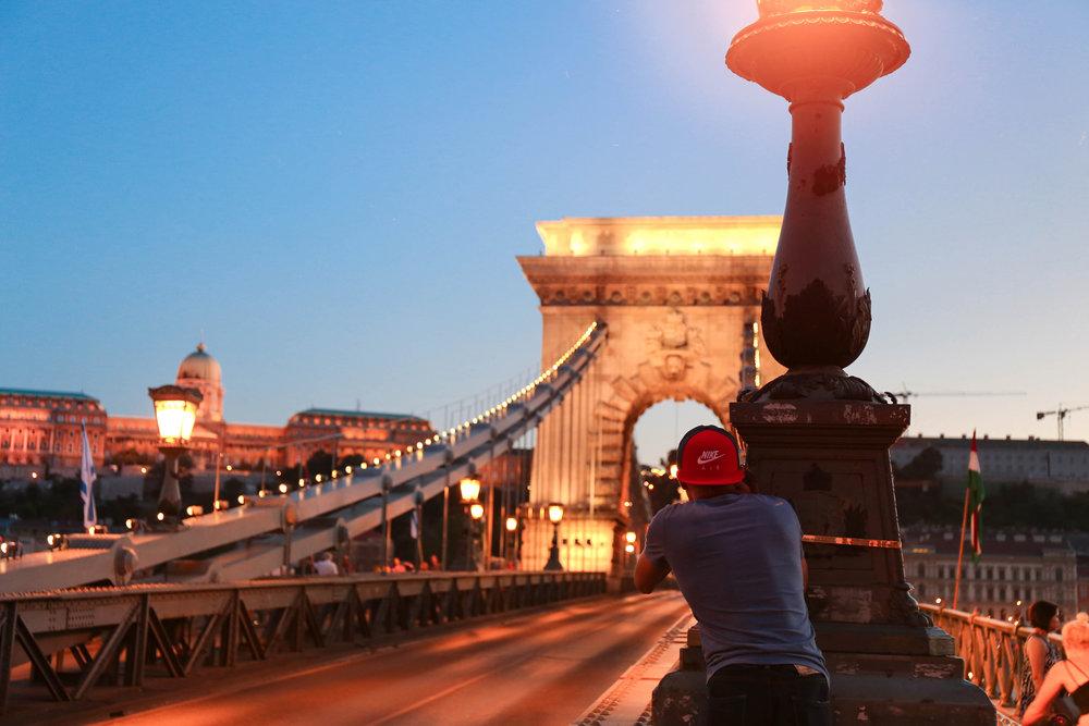 Budapest Chain Bridge—  @TORYTORYDOR