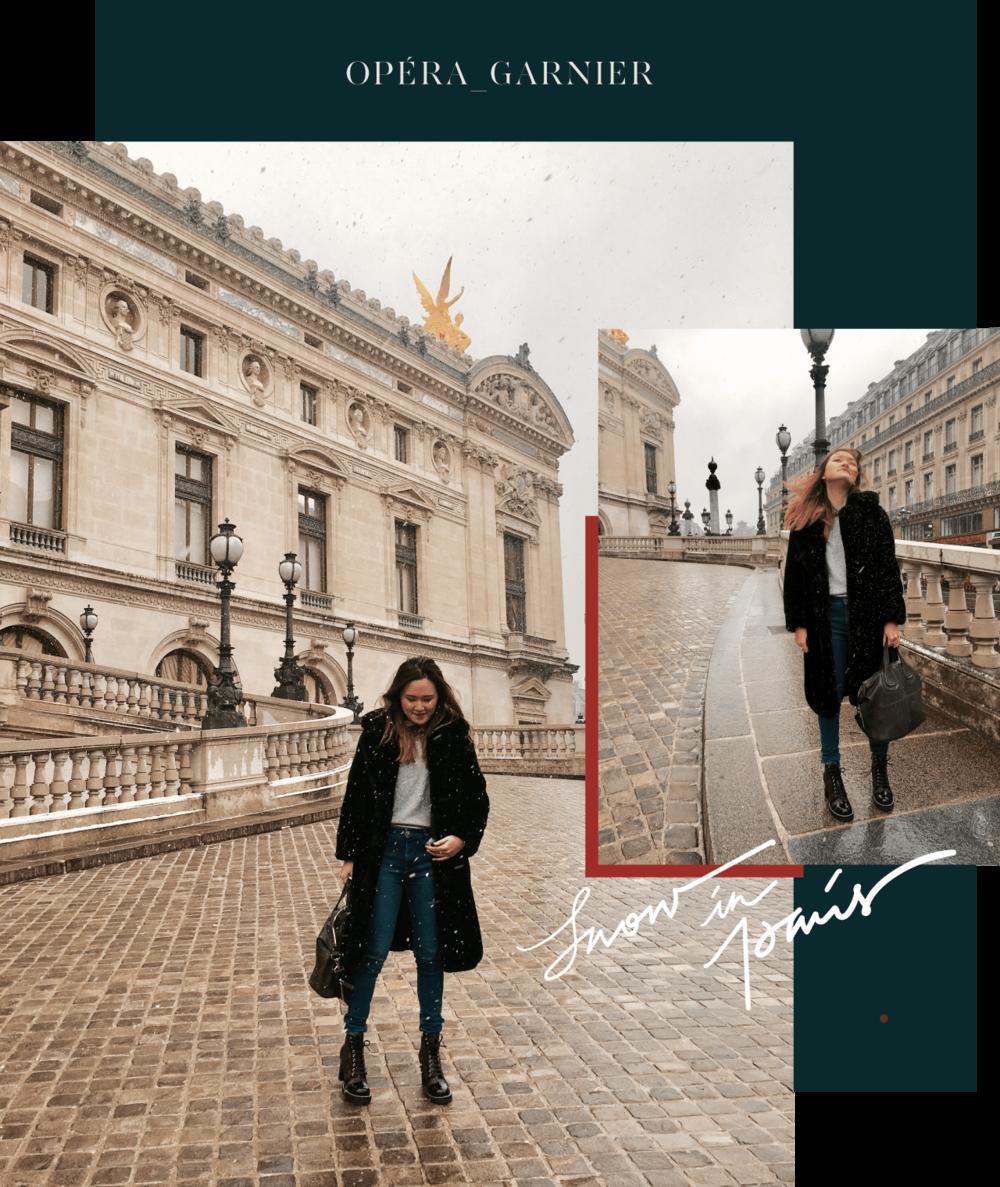 paris opera garnier - look du jour