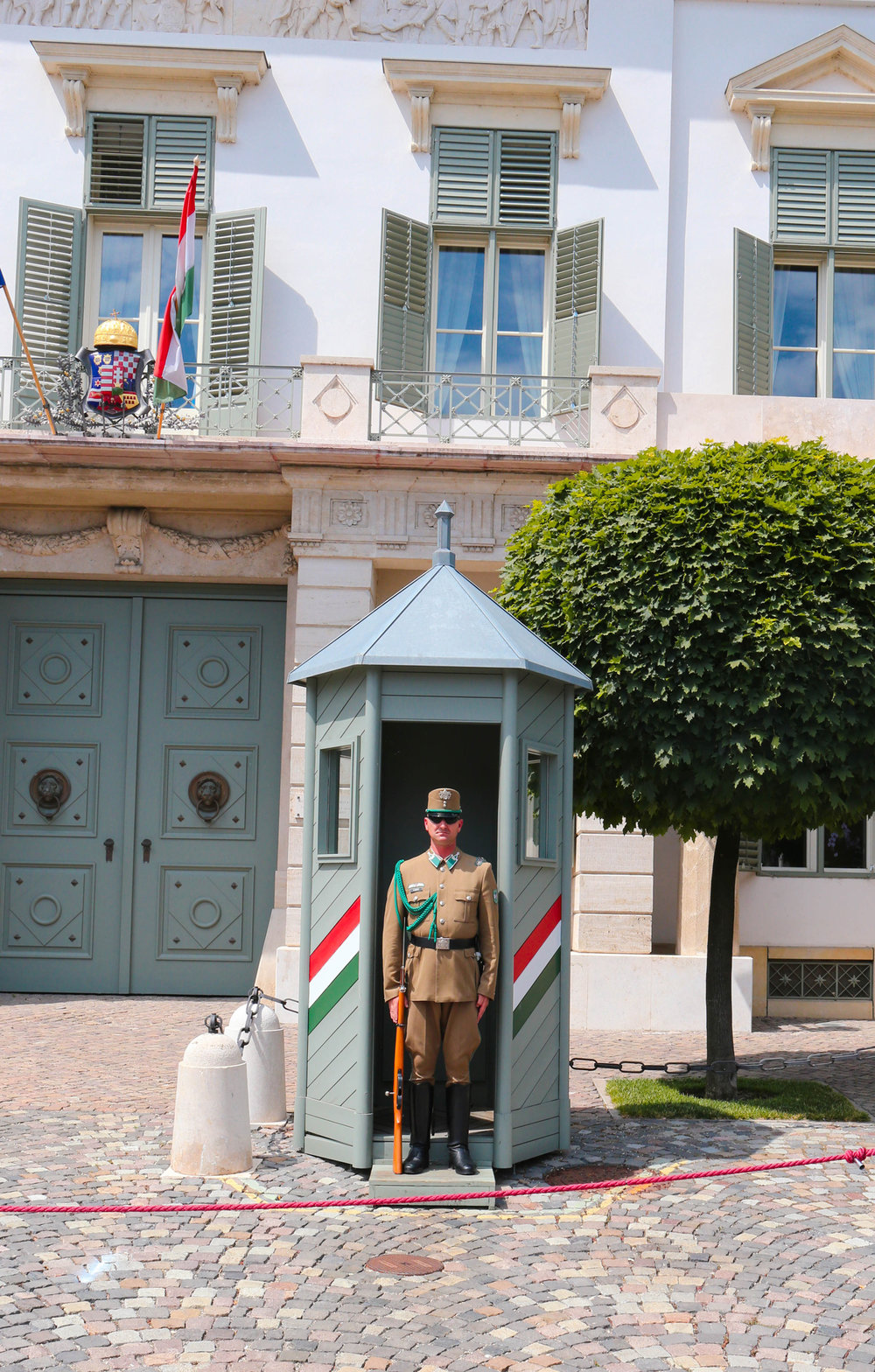 budapest change of guard