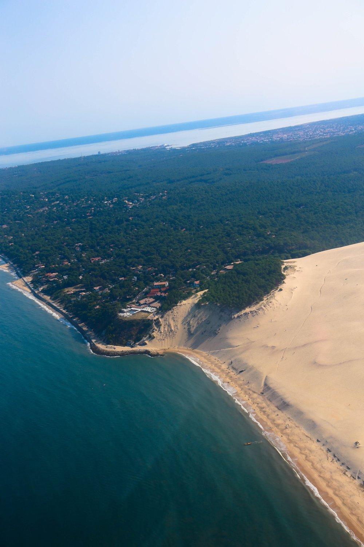 bassin d'arcachon dune de pyla, la coorniche