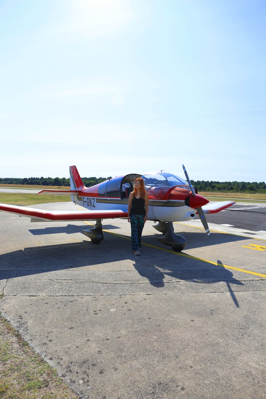 L'Aérodrome de Villemarie, bassin d'arcachon