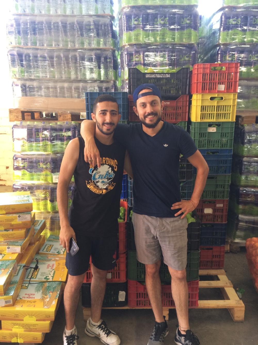Mit Wael sind es nun schon drei Robins die im Warehouse arbeiten können.