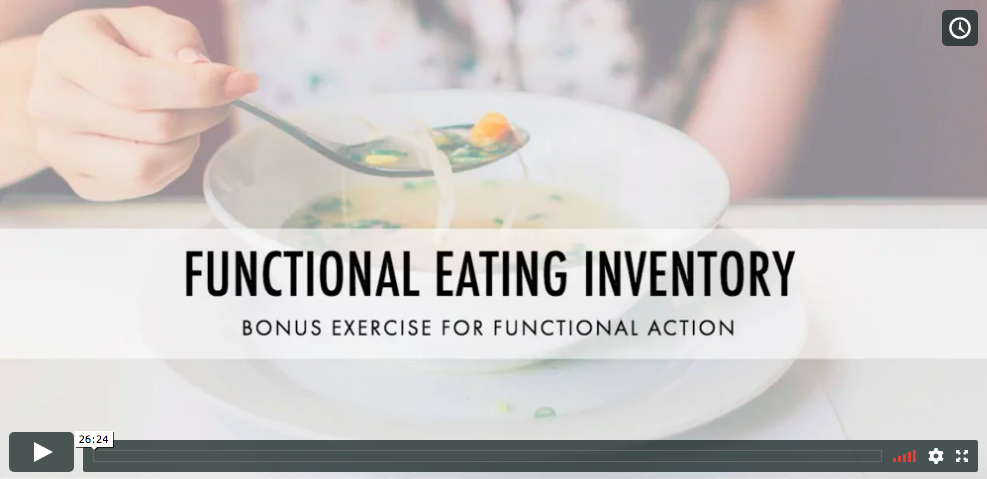 Discover a brand new exercise that helps participants break free from dieting dogma  and develop a holistic, personalized, and flexible approach to eating. This is the second webinar in our new series on bonus exercises for the Eat Breathe Thrive program.