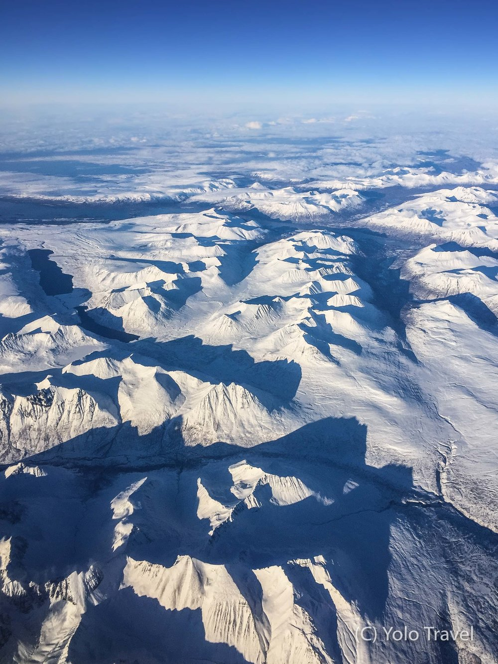 View from the Flight Home (Alasak ... Yes not actually Canada!)