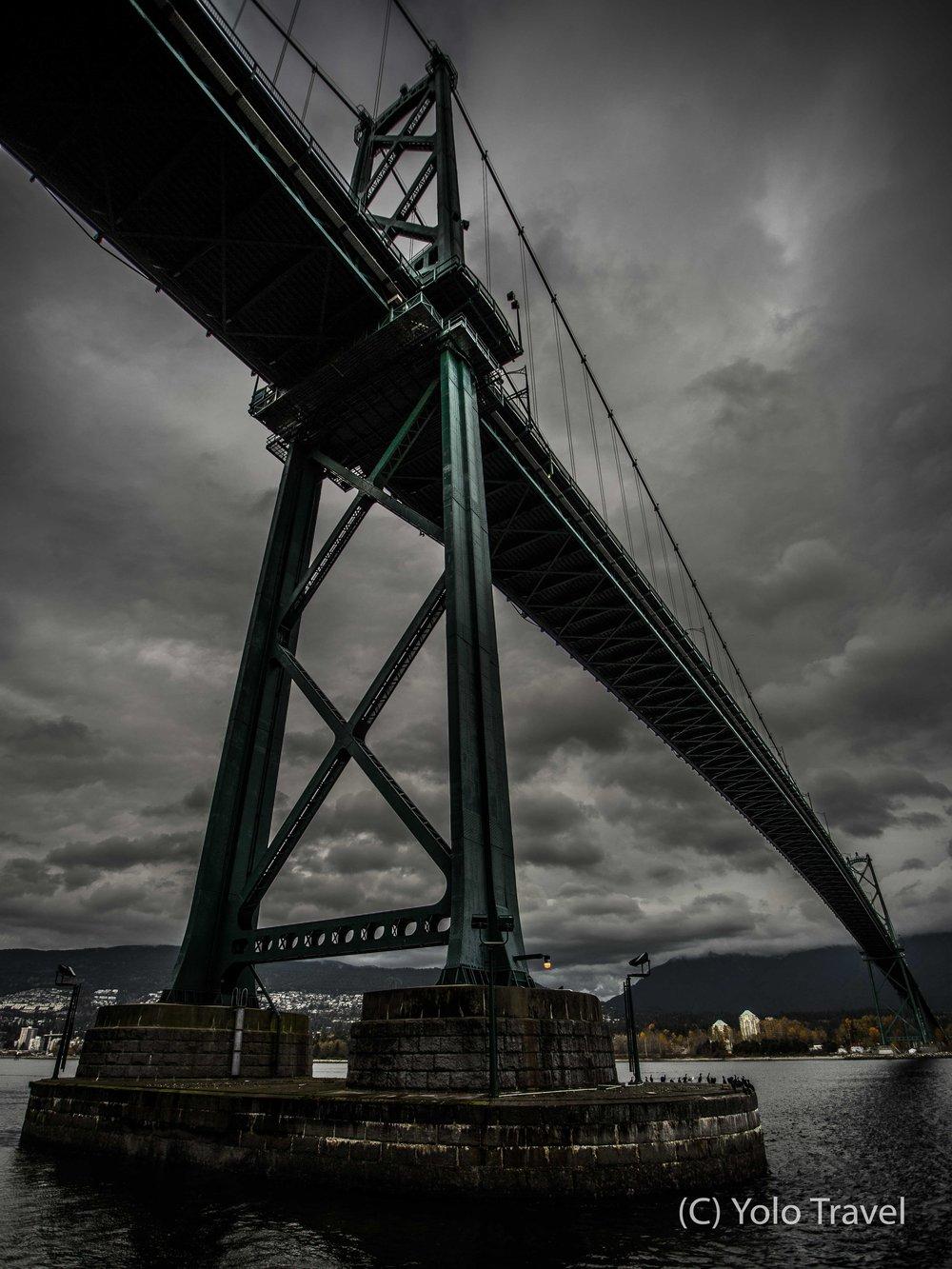 Vancouver's Lions Gate Bridge