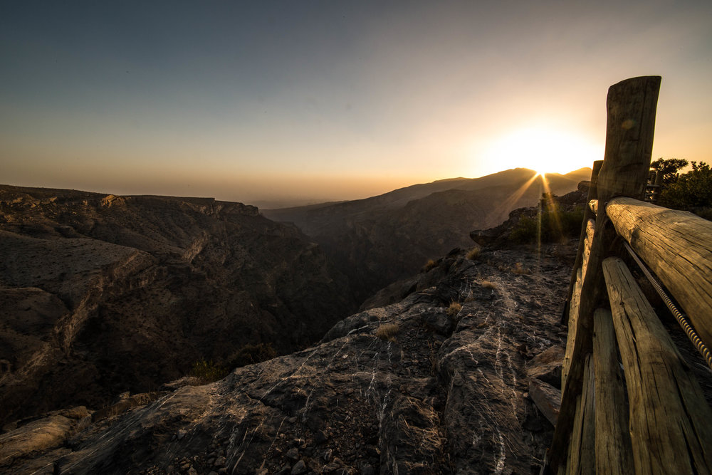 Alila Jabal Akhdar (Review) (Lookout View at Sunset).jpg