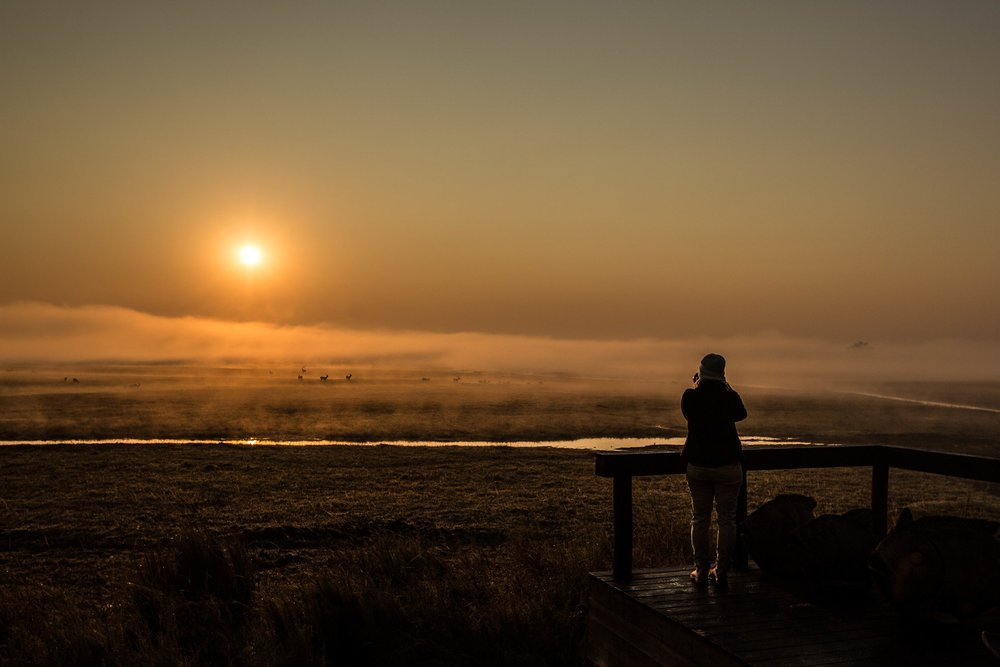 Sunrise over the Plains