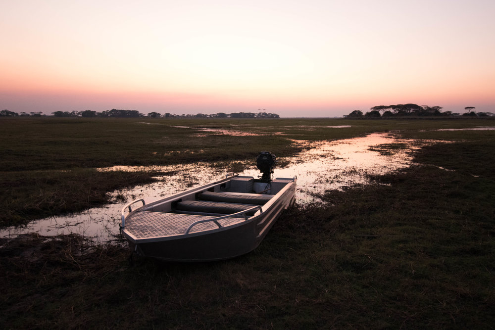 If water levels allow, the 4WD can be swapped for flat bottom dinghy