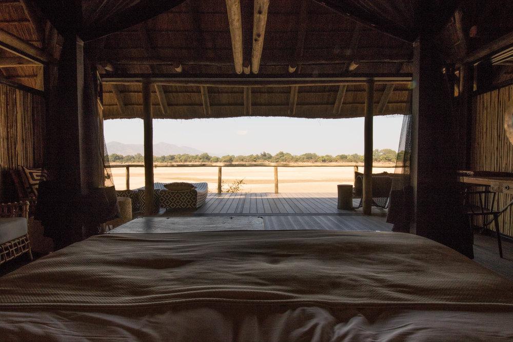 Honeymoon Villa Bed View