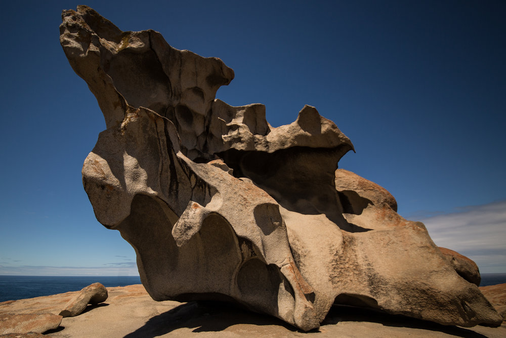 500 million years of wind and rain have sculpted the granite at Remarkable Rocks! -