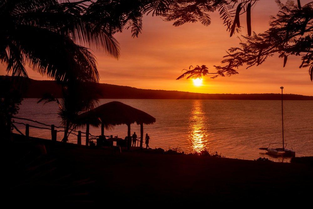 Sunset at The Havannah, Vanuatu