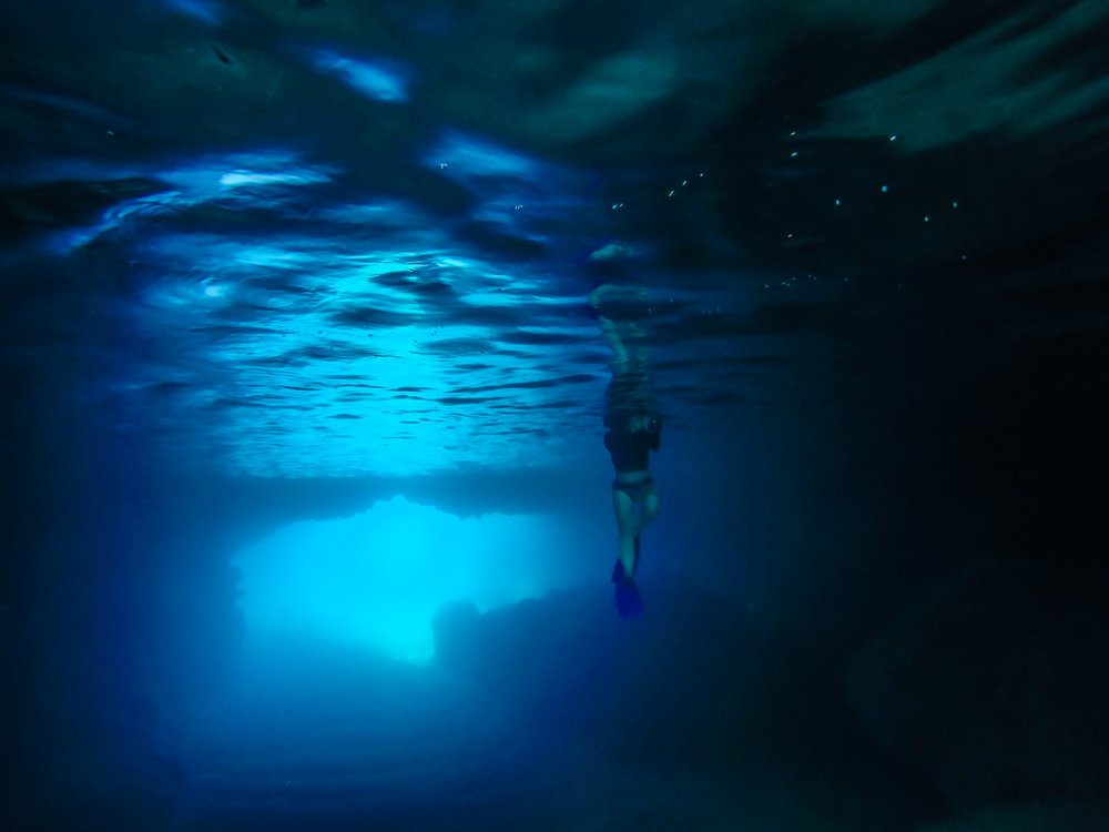 """The beautiful """"Blue Cave' on Tanna is a genuine highlight not to be missed."""