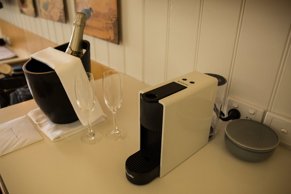 Capella Lodge, Champagne on Arrival and a Nespresso Machine, Lord Howe Island