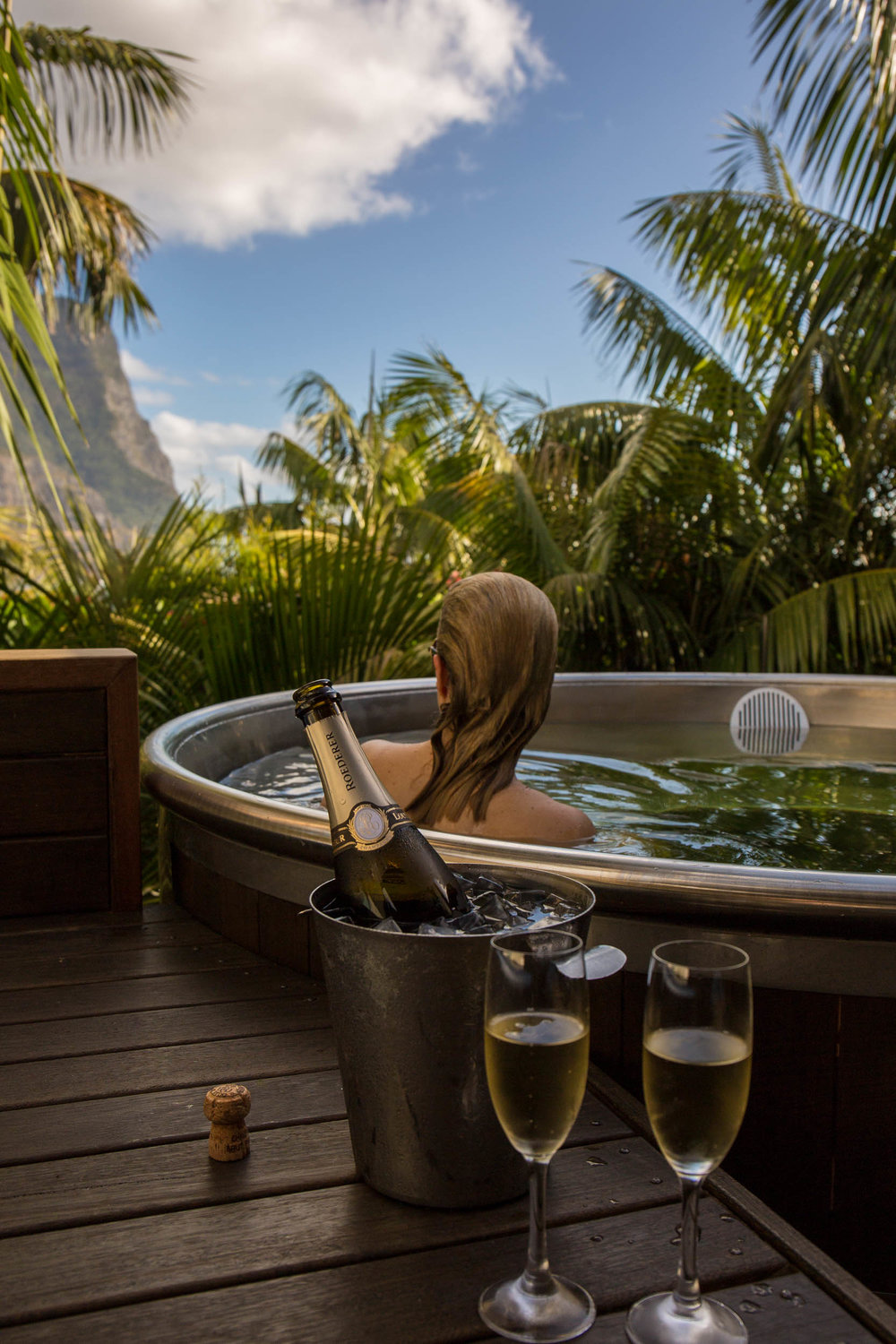Capella Lodge ethos is to ensure a relaxing stay in paradise.