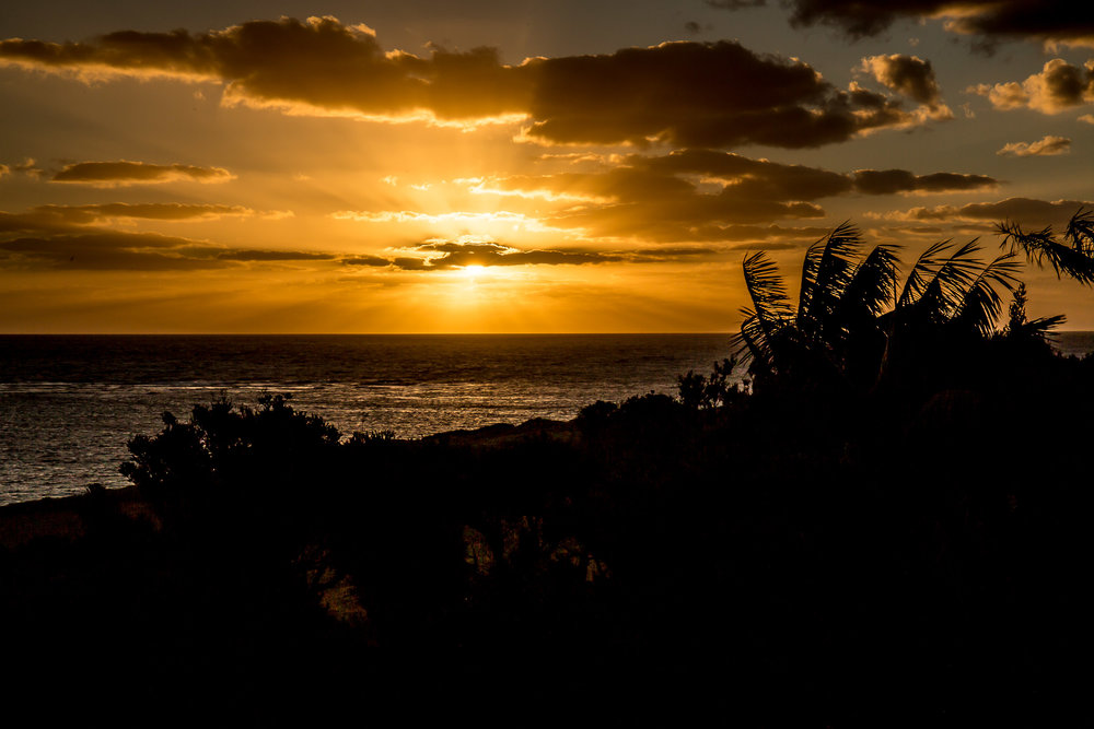 Sunset from Capella Lodge, Lord Howe Island