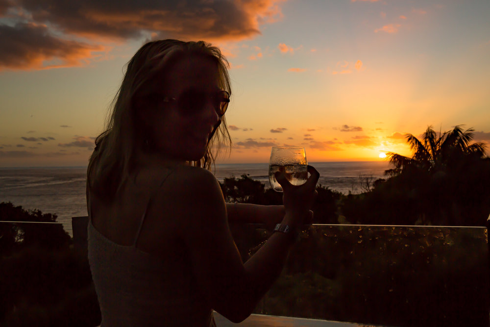 Evening Cocktails, Capella Lodge, Lord Howe Island