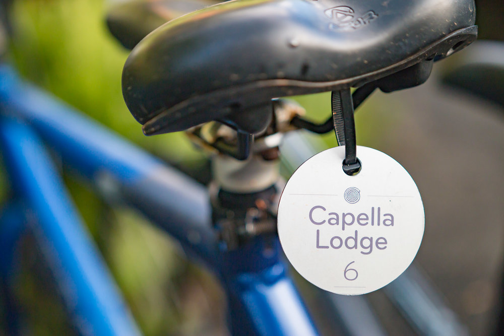 Complimentary bicycle hire is included in your accommodation at Capella Lodge