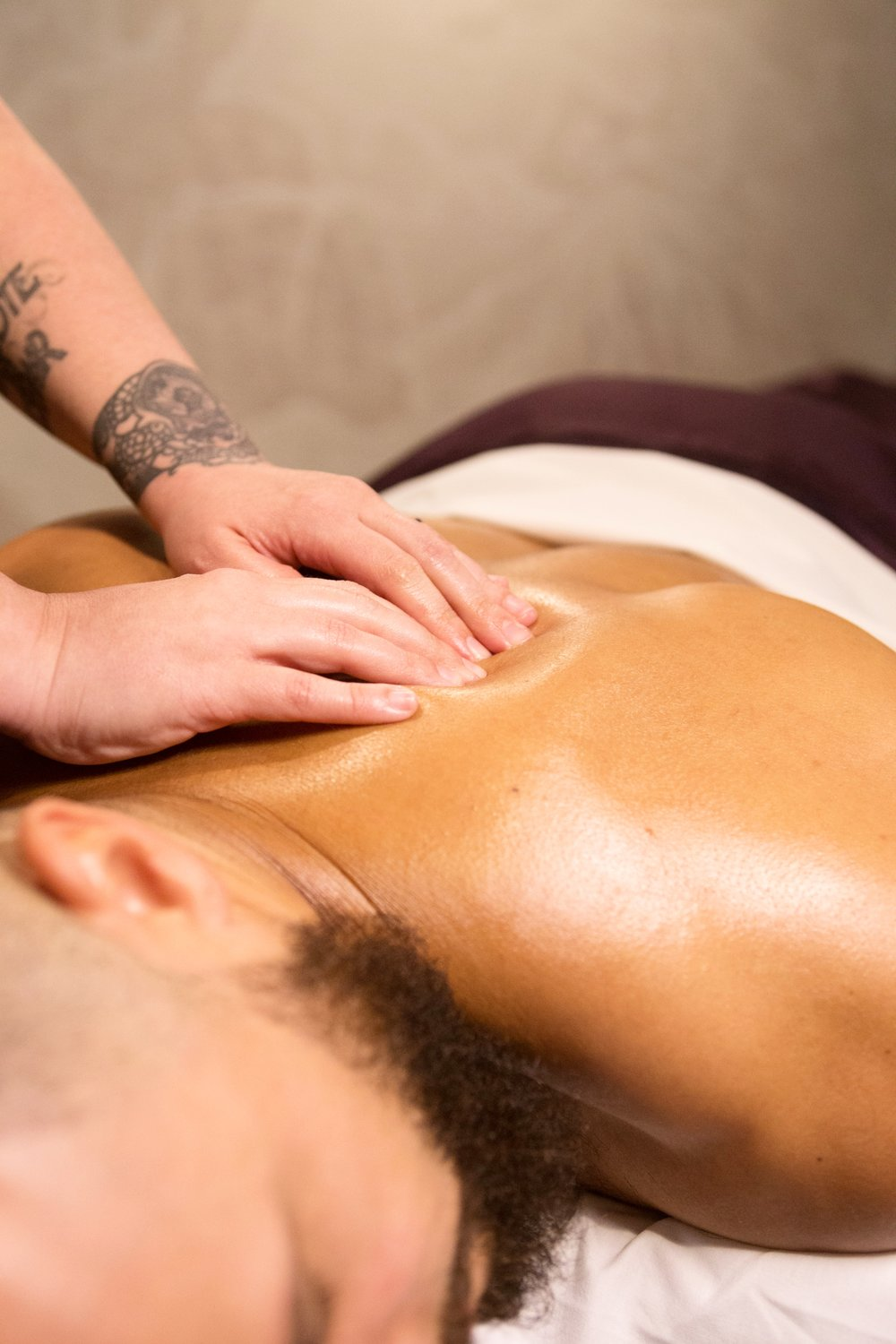 DEEP TISSUE MASSAGE   Strong, steady pressure is applied to reach deep muscles within your body.  30-minute session: $40  45-minute session: $55  60-minute session: $70  90-minute session: $90  120-minute session: $133