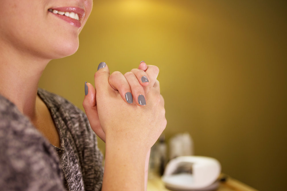 MANICURE   Your finger nails put up with a lot, so let them know you care. Our nail technician will buff and shape your nails and leave them looking awesome.  Manicure: $30  Shellac Polish: Additional $10